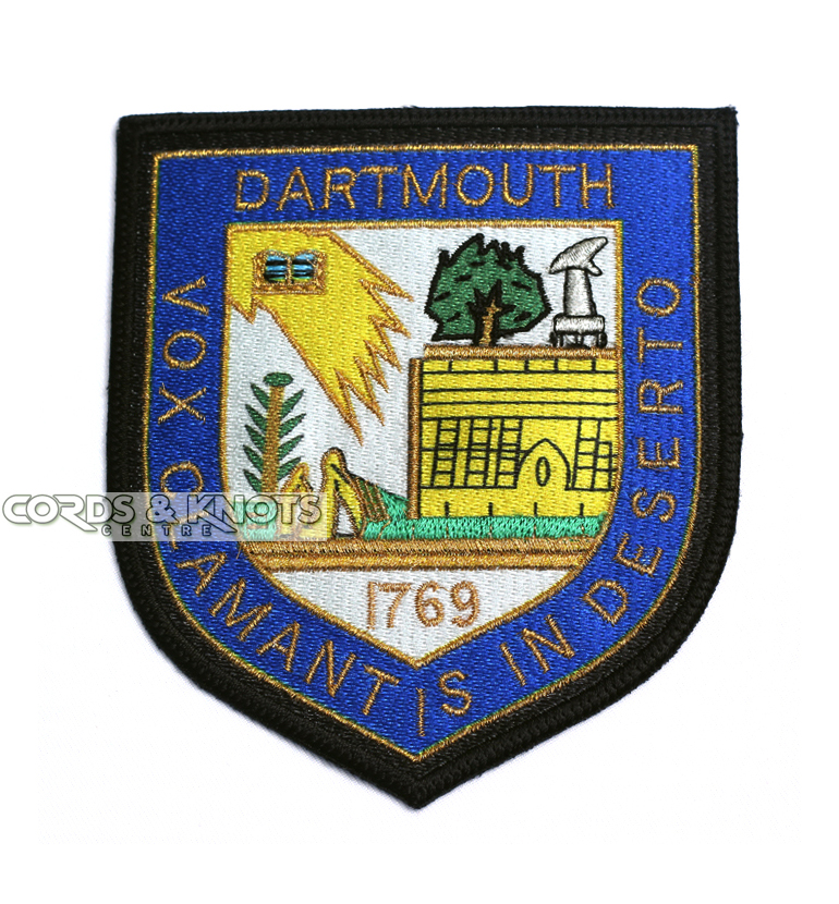 Machine Embroidered Badge