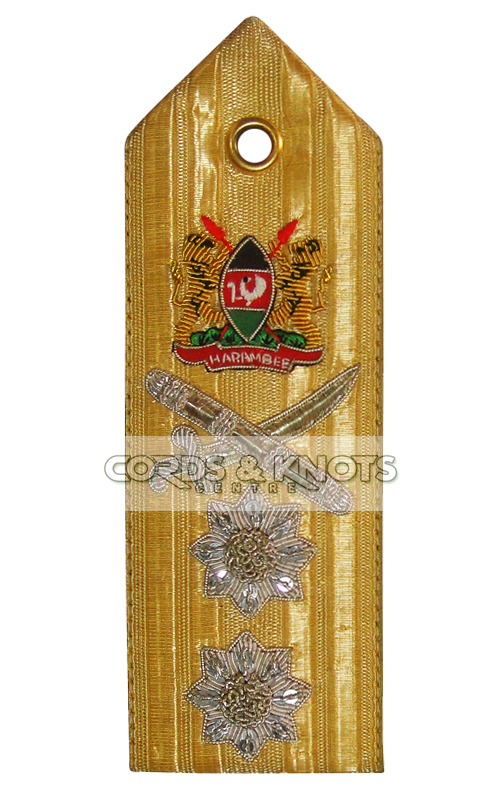 Kenya Army Shoulder Epaulettes
