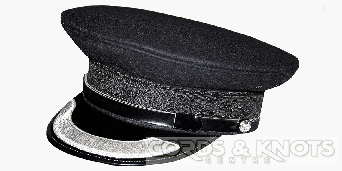 police cap , cordsknots, army, police, forces caps