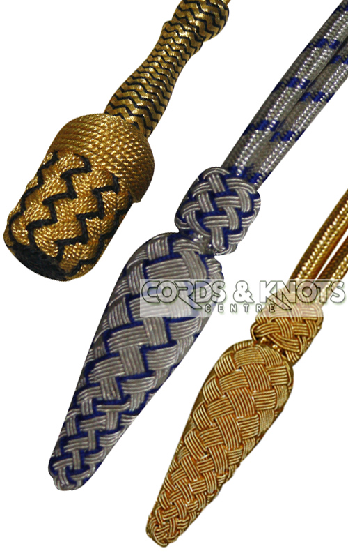 sword knots, cords knots, aigullettes , uniform aigullette, cords, uniforms